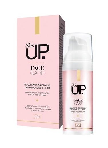 Skin UP +60 Yaş Yenileyici & Sıkılaştırıcı Krem Yaşlanma Karşıtı Gece Gündüz Kremi 50ml Renksiz